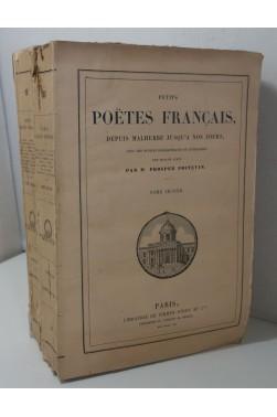 PROSPER POITEVIN. Petits Poëtes français depuis Malherbe jusqu'à nos jours 2/2 - 1880