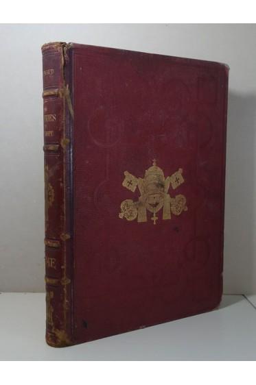 Les Galeries Publiques de l'Europe - ROME. Gravures, tirage limité, LAHURE - 1859