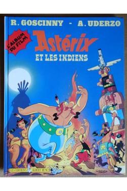Astérix et les Indiens - Album du film - R. Goscinny, A. Uderzo - Ed. A. René, 1995 - Comme neuf -