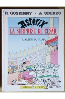Astérix et la surprise de César - Album du film - Goscinny, Uderzo - 1990 -