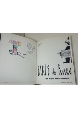 MALTETE. Paris des rues - ENVOI signé + DESSIN original. SINé, BUFFET, Photographie