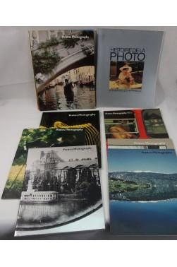 9 revues PENTAX photography, n° 1 à 7 - RARE, HASKINS + histoire photographie appareils