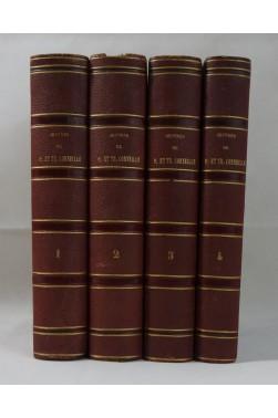 Oeuvres complètes de P. CORNEILLE, 1838 + oeuvres de Th. Corneille 4/4 - Ed. Lefèvre