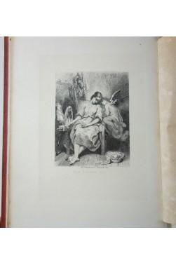 Contes de Charles NODIER - 8 Eaux-fortes par Tony JOHANNOT. 1859, Magnin, Blanchard