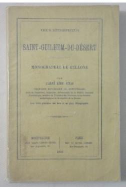 VINAS. Visite rétrospective à Saint-Guilhem-du-Désert. Monographie de Gellone. 3 gravures + plan, 1875