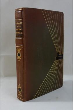 [ BELLE RELIURE ] Charles GENIAUX. Le Choc des races - Bois en couleurs de ENGELBACH. 1933
