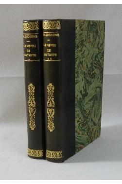 DICKENS. Le Neveu de ma tante - Histoire personnelle de David Copperfield 2/2 1859 - RELIURES