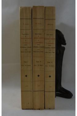 SAUREL. Histoire religieuse du département de l'Hérault pendant la Révolution, le Consulat - tomes 1, 2 et 4 - 1898