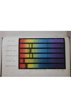 FREY Traité d'HISTOLOGIE et d'histographie -1871. Chromolithographie spectroscopie du sang + 530 gravures