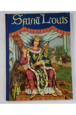 SAINT-LOUIS illustré en couleurs par Pierre LUC - EO, Cartonnage GRUND, 1936 - VILLEFOSSE