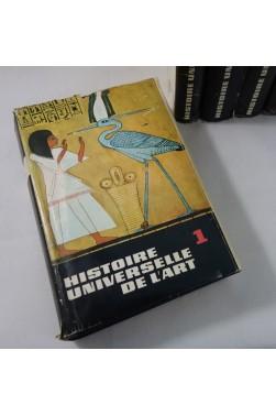 Histoire universelle de l'ART en 5 volumes - RIMLI , Ed. STAUFFACHER - illustrations couleurs