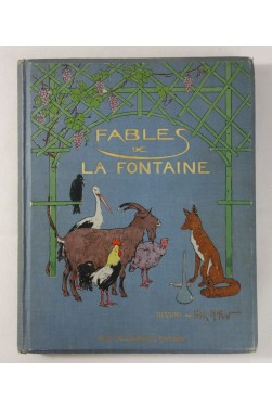 FABLES de LA FONTAINE - illustrations de Henry MORIN - Cartonnage illustré, Laurens