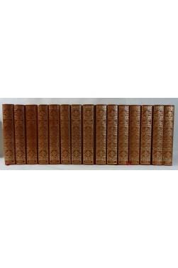 Histoire générale des GRANDS AVENTURIERS DE MER - 15 volumes illustré, reliés, vergé boouffant