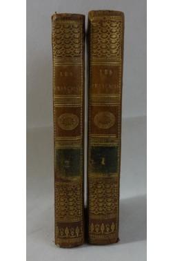 Mme DUFRENOY. Les françaises, nouvelles - 1818, 2 tomes. RARE - 6 gravures, Lib. EYMERY