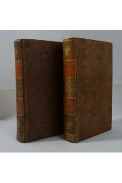 Théâtre de Société - 1781, 2 tomes. Plusieurs pièces : Mère rivale ,Zélie... RELIURES