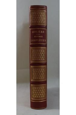 Oeuvres complètes de MOLIERE - gravures de STAAL, Delannoy. RELIURE Garnier, 1877