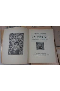 Lot de 6 livres illustrés par L. William GRAUX de la collection Le Livre de Demain