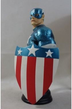 MARVEL mini-bust - CAPTAIN AMERICA World War II WWII n°178/1300 - Randy BOWEN - 17cm