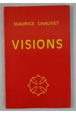 Maurice CHAUVET. VISIONS - Dessins de Guestault. 1976, sur vélin - Poésie