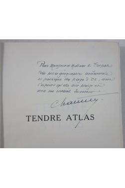 Maurice CHAUVET. Tendre Atlas - Edition originale avec Envoi signé et carte. 1952, PAYS D'OC