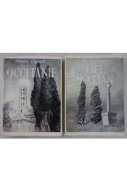 Maurice CHAUVET. Occitanie + Ciel occitan - Edition originale numérotée et signée, 1/100ex, envois