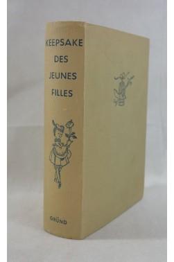 KEEPSAKE des jeunes filles - 58 contes et récits pour Véronique - Illustrations de Françoise ESTACHY