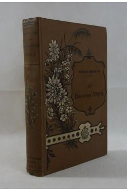 Théophile GAUTIER Fils. La Baronne Véra - Calmann Lévy, 1885, RARE - Reliure illustrée