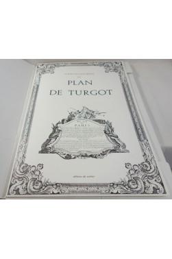 """Le Plan de Louis Bretez dit """"Plan de Turgot"""" - 20 planches de PARIS à vol d'oiseau - Ed. du Sorbier 1979"""
