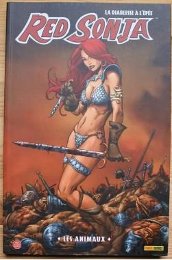 Red Sonja, la diablesse à l'épée - T4 Les Animaux - Michael Avon Oeming - Panini comics, 2009 -