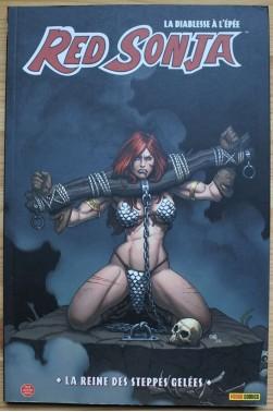 Red Sonja, la diablesse à l'épée - La reine des steppes gelées - Panini comics, 2009 - Pour lecteur averti -