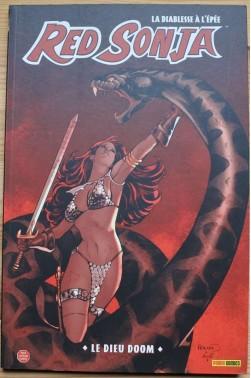 Red Sonja, la diablesse à l'épée - Le Dieu Doom - Panini comics, 2009 - Pour lecteur averti -