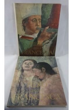 PIERO della FRANCESCA. La légende de la croix - fresques à AREZZO. 2 tomes numérotés, SIDERA