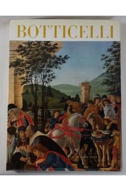 André CHASTEL. BOTTICELLI - 57 reproductions dont 53 en couleurs. Librairie Plon, 1957, RARE