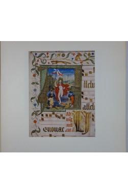 Les Antiphonaires d'Estavayer-le-Lac - 9 planches couleurs. Les TRESORS de la PEINTURE SUISSE - Skira, 1943