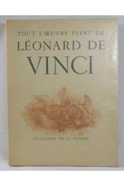 Tout l'œuvre peint Léonard de VINCI. Galerie de la Pléiade, NRF, 1950, planches couleurs
