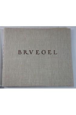 Gustav GLUCK. BRUEGEL - 82 planches en couleurs. RARE, Editions BRAUN, reliure toile