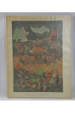 Miniatures indiennes au temps des grands Moghols - 8 grandes planches en couleurs., Editions Du Chêne