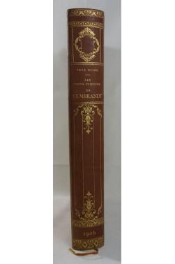 Emile MICHEL. Les chefs-d'œuvre de Rembrandt - Edition du tri-centenaire 1606 - 1906. Belle reliure, Hachette