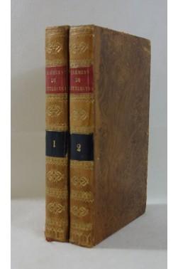 M. l'abbé Batteux. Élémens de littérature, extraits du Cours de belles-lettres 2/2 - Savy, 1829 - reliures
