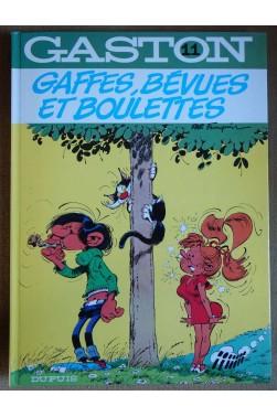 Gaffes, bévues et boulettes - Gaston 11 - Franquin - Ed. Dupuis, 1982 -