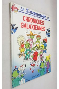 EO - Le Scrameustache - Tome 22. Chroniques Galaxiennes - GOS et WALT- Editions DUPUIS