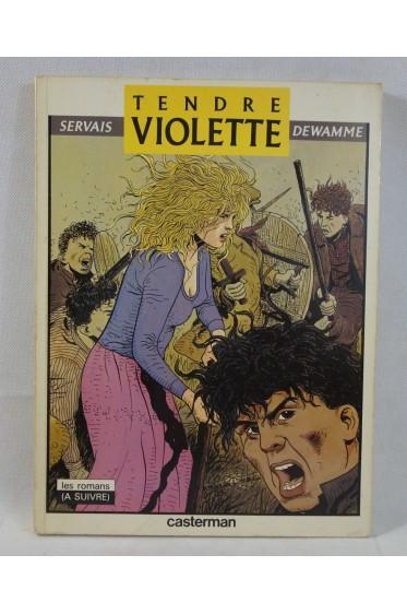 EO - SERVAIS - Tendre Violette tome 3. L'Alsacien - Noir et Blanc - Casterman