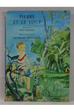 PROKOFIEFF - DUHAMEL. Pierre et le loup - illustré par RABEC. Grand Format, Editions BIAS