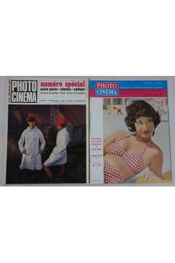 Revue PHOTO CINEMA - mensuel - 2 numéros, Août 1961 + N° 793 novembre 1967 - Bob Ter Schiphorst