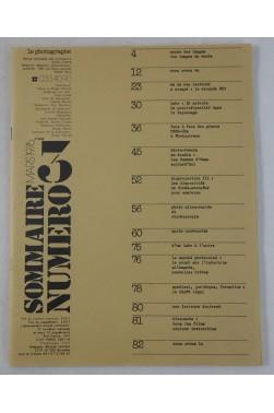 Revue - le photographe - numéro 3 - mars 1976 - RARE - professions photo-cinéma