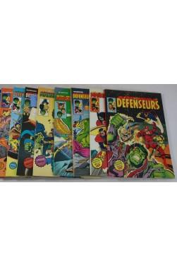 Les Défenseurs - tête de série, numéros n° 1 à 8 - Artima Color, MARVEL Super Star - DEFENDERS