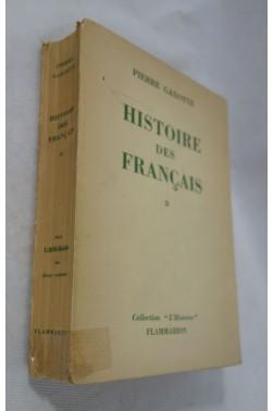 Histoire des francais. tome 2. [Broché]