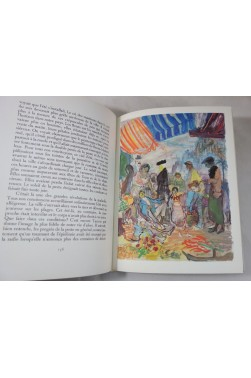 Albert CAMUS. LA PESTE - illustrations de EDY-LEGRAND. 2 tomes, numérotés, 1962