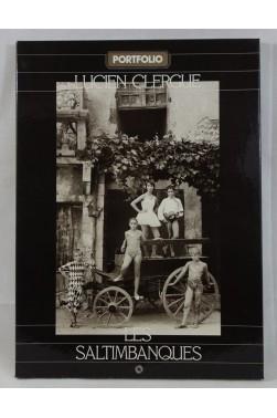 PORTFOLIO Lucien CLERGUE. Les Saltimbanques - 12 photographies grand format, 1980