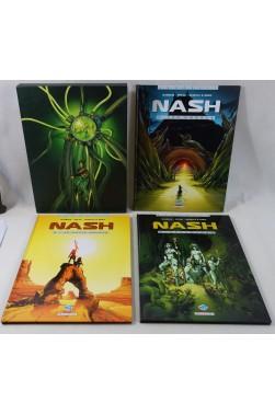 Nash, coffret 3 volumes : 5. Le Petit Peuple - 6. Dreamland - 7. Les Ombres - RARE